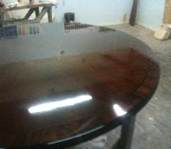 Hand French Polished High Gloss Table