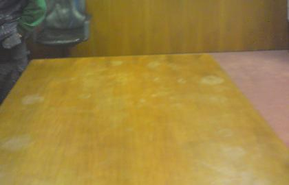 Parks of Hamilton Boardroom Table - Before