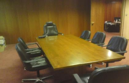 Parks of Hamilton Boardroom Table - After